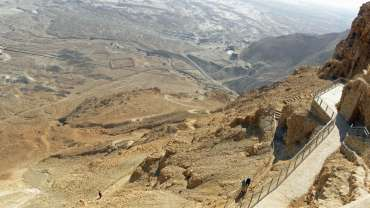 A Day From Jerusalem or Tel Aviv to the Judean Desert